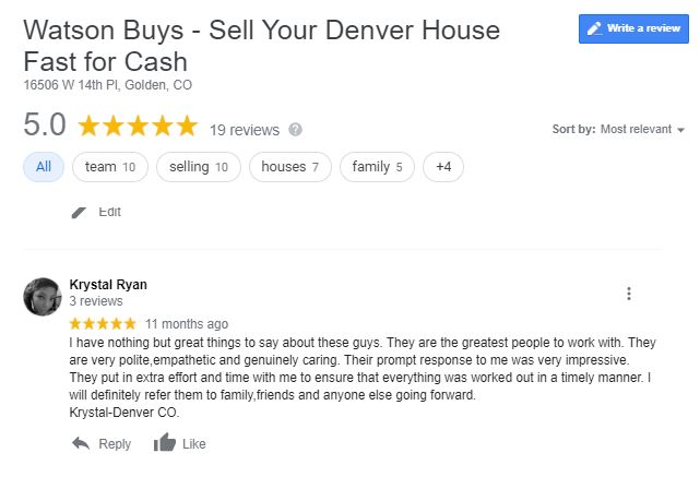 Denver Best Cash Buyer