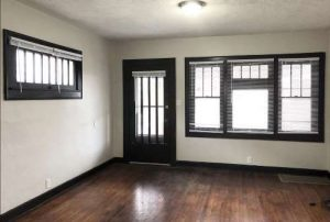 Front Door and living space