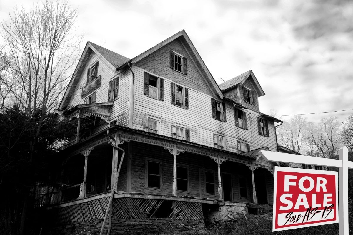 haunted house for sale tenant occupied