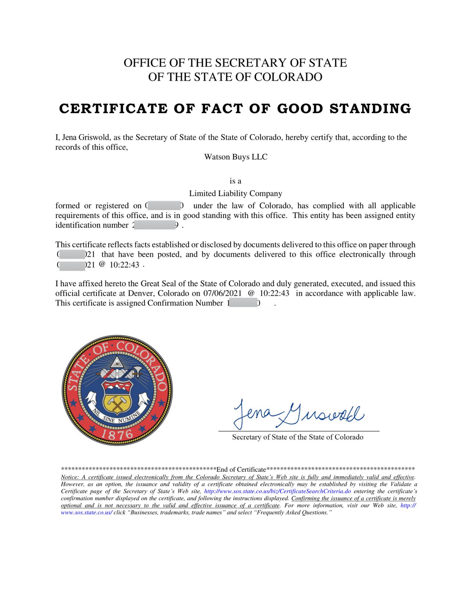 Certificate-of-Good-Standing-Watson-Buys