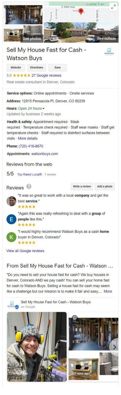 Google-profile-page-sell-house-fast-cash-Watson-Buys